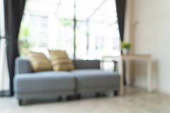Abstract blur interior decoration in living room Stock Photography