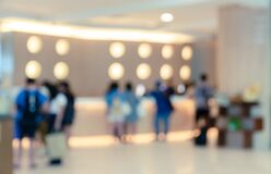 Free Abstract Blur Luxury Hotel Lobby Interior For Background. Business Travel Concept Stock Image - 176417611
