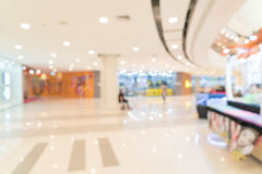 abstract blur in luxury shopping mall Stock Photography