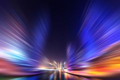 Abstract blur modern city background Stock Images