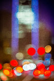 Abstract blur of a modern city in the morning Royalty Free Stock Image