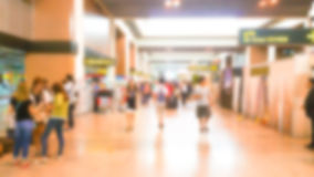 Abstract blur passenger Royalty Free Stock Photography