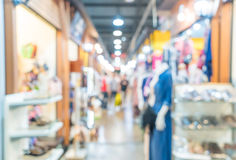 abstract blur people crowd in street market Royalty Free Stock Photography