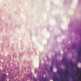 Abstract blur of purple color bokeh lighting as background Royalty Free Stock Photography