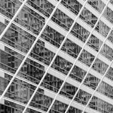 Abstract blur reflection on window building Royalty Free Stock Photography
