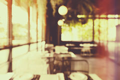 Abstract blur restaurant background Royalty Free Stock Images