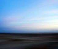 Abstract blur seaside. Summertime Stock Image