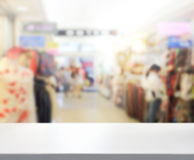 Abstract Blur Shopping Market Background Royalty Free Stock Photography