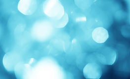 The Abstract blur sky blue bokeh lighting background stock photos