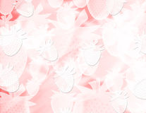 Abstract blur strawberries background Royalty Free Stock Photo