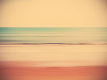 Abstract blur summer beach Stock Image