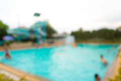 Abstract blur Swimming pool Stock Images