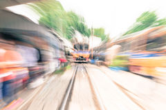 Abstract blur train. For background Royalty Free Stock Images
