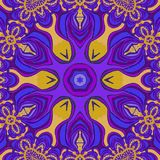 Abstract background. Violet, light orange and blue colors. royalty free illustration