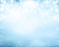 Abstract blur winter background Stock Photos