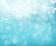 Abstract blur winter background Royalty Free Stock Images