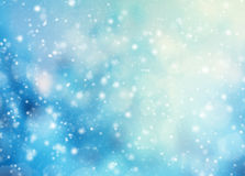Abstract blur winter background Royalty Free Stock Photo