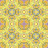 Abstract blur yellow pattern, ink  background Stock Image