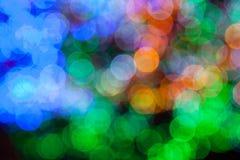 abstract blured lights Στοκ Εικόνες
