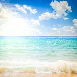 Abstract blured sea background royalty free stock photo