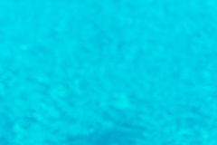 Abstract of blured swimming pool  for brackground Stock Photos