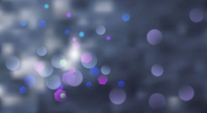 Abstract blurred background. With bokeh effect in gray colors Royalty Free Stock Image