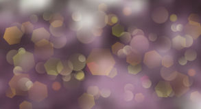 Abstract blurred background. With bokeh effect in violet colors Royalty Free Stock Photography