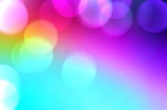Abstract blurred background with bokeh Stock Photos