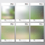 Abstract blurred background. Brochure, flyer or Royalty Free Stock Photos
