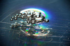 Abstract blurred background frozen water Royalty Free Stock Photos