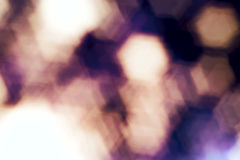 Abstract blurred background with geometric bokeh stock photo