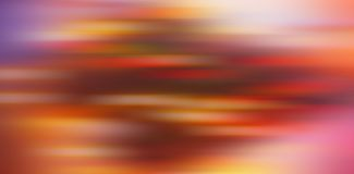 Abstract blurred background, horizontal color spots - red, yello stock photography