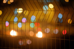 Abstract blurred background with large bokeh spots Royalty Free Stock Photography