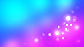 Abstract blurred background with light bokeh. Abstract blurred background texture, blue, cyan and purple colors, round light bokeh effect and gradients. Good for Royalty Free Stock Photography