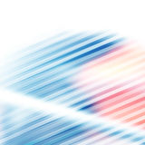 Abstract blurred background. Vector abstract background with blurred lines and shapes Stock Photography