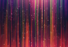 Glamour luxury background with colorful rays. Abstract blurred blue and purple colorful rays moving opposite each other with colorful bokeh. Glamour luxury Royalty Free Stock Photography