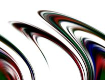 Abstract blurred blue red white dark colors and background. Lines in motion. Abstract blurred colors and lines in motion, red, blue dark, green, white hues stock illustration