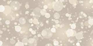Abstract blurred bokeh. Light in warm  tone background Stock Photography