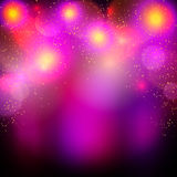 Abstract blurred bokeh effect background Stock Photography