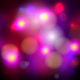 Abstract blurred bokeh effect background Royalty Free Stock Image