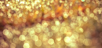 Abstract blurred bokeh natural lighting background Royalty Free Stock Photo