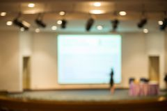Abstract blurred of business meeting in conference room. Abstract blurred image of business meeting in conference room stock photos