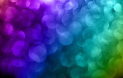 Abstract blurred circles Royalty Free Stock Image