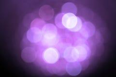 Abstract blurred circular bokeh Stock Photography