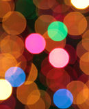 Abstract blurred circular bokeh Stock Photos