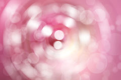 Abstract blurred color and bokeh background, pink and white. Royalty Free Stock Photography