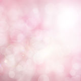 Abstract blurred color and bokeh background, pink and white. stock images