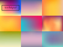 Abstract blurred colorful background Stock Image