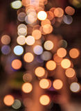 Abstract blurred colorful Bokeh, Abstract background colorful Bokeh at Night Traffic in Bangkok, Thailand Stock Photos