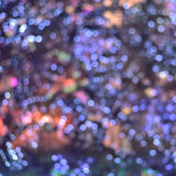 Abstract blurred colorful bokeh lights  background Royalty Free Stock Photography
